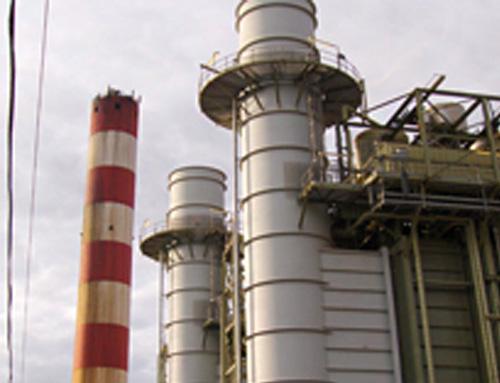 Aughinish CHP Exhaust Stacks